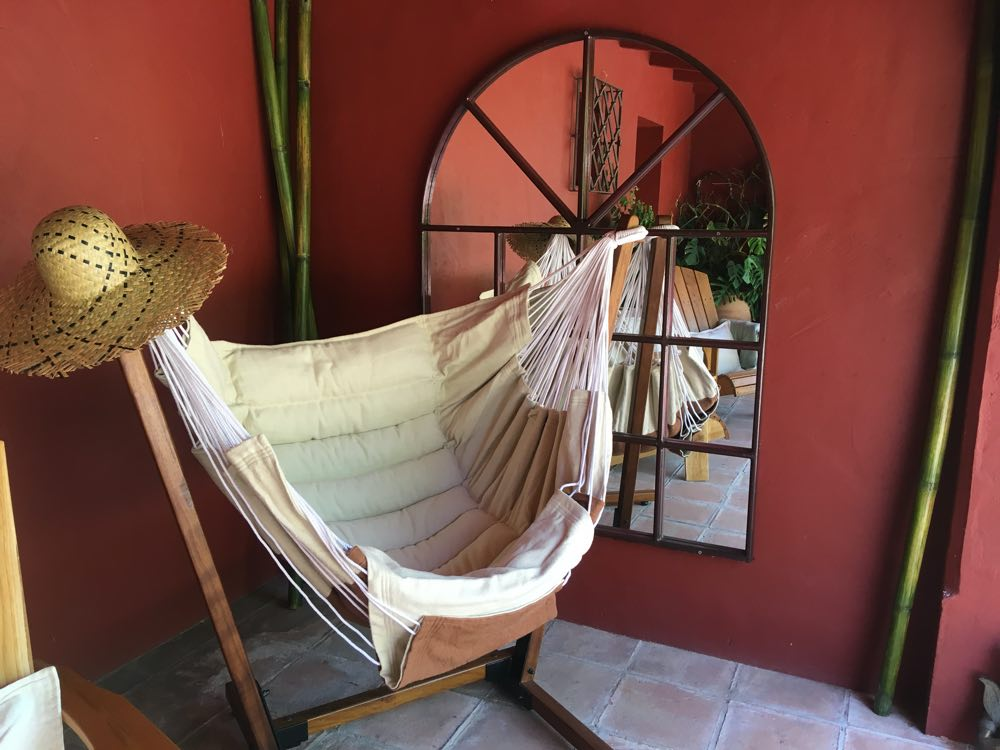 Accommodations hammock