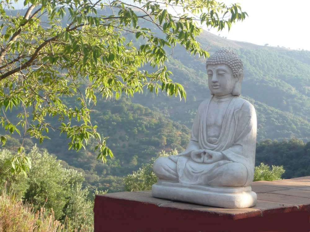 Mountain meditation retreat